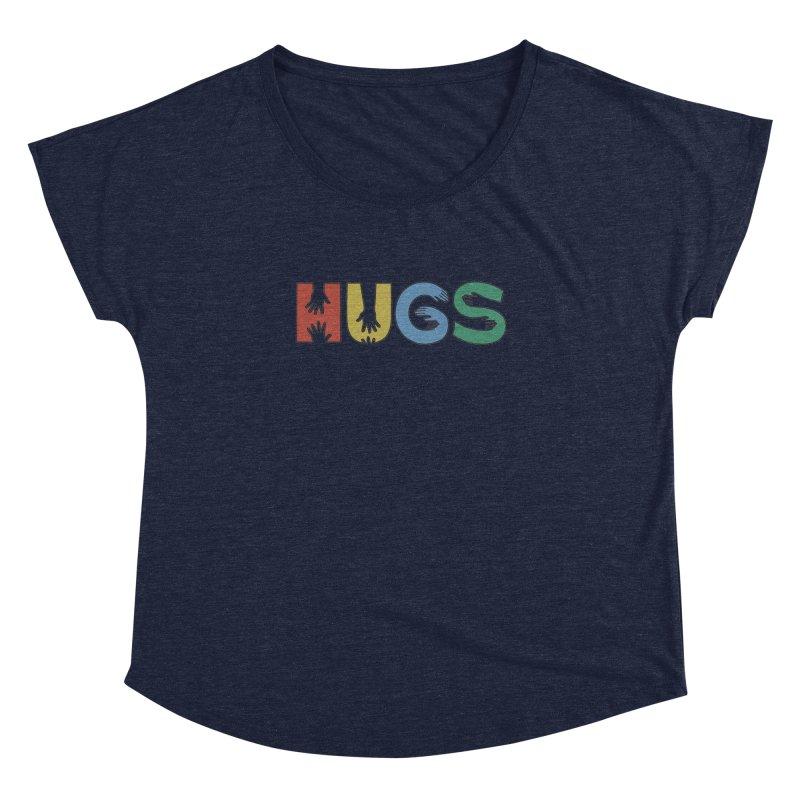 HUGS (Color) Women's Dolman by Hi Hello Greetings