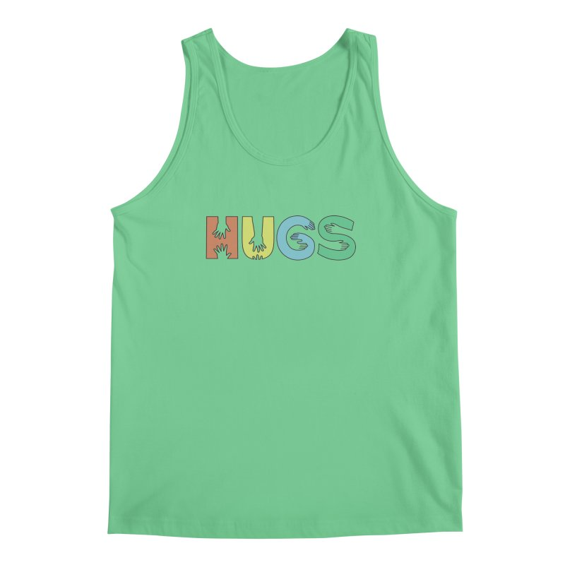 HUGS (Color) Men's Regular Tank by Hi Hello Greetings