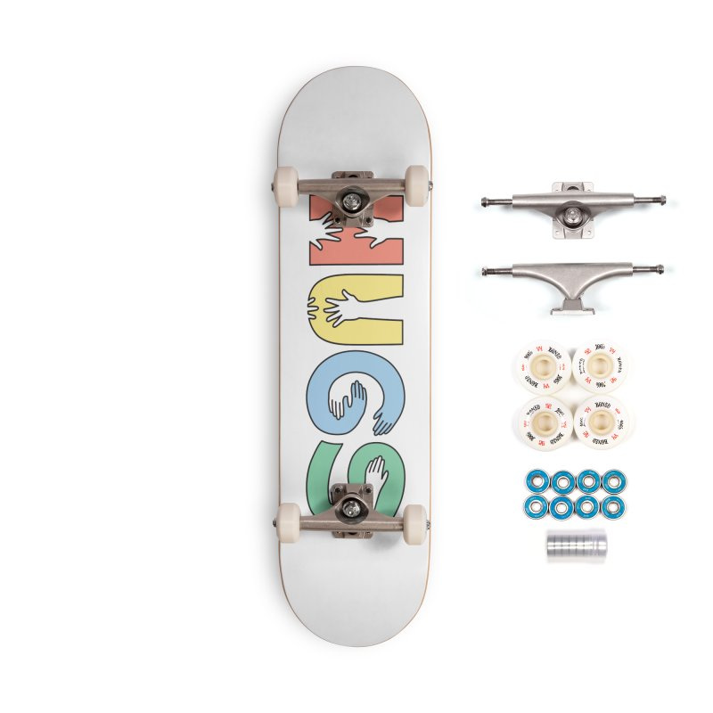 HUGS (Color) Accessories Complete - Premium Skateboard by Hi Hello Greetings