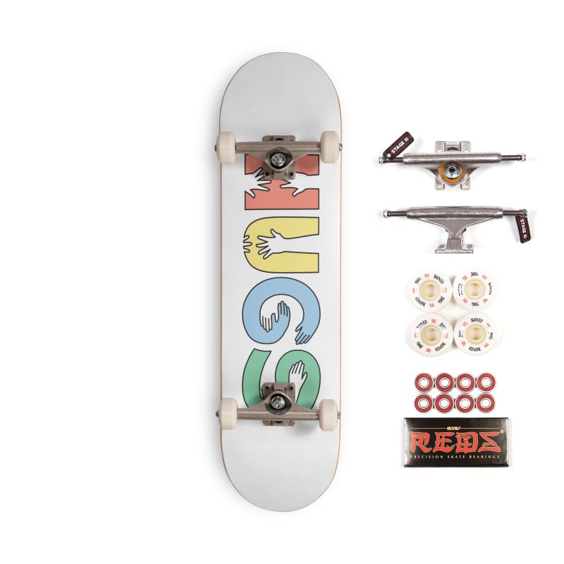 HUGS (Color) Accessories Complete - Pro Skateboard by Hi Hello Greetings