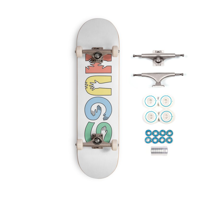 HUGS (Color) Accessories Complete - Basic Skateboard by Hi Hello Greetings