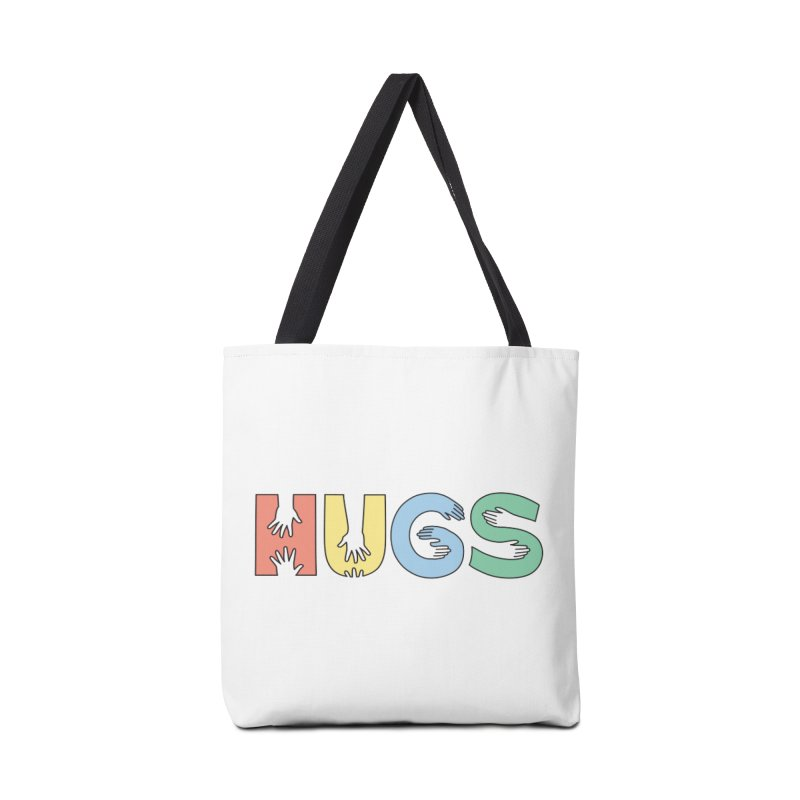 HUGS (Color) Accessories Bag by Hi Hello Greetings
