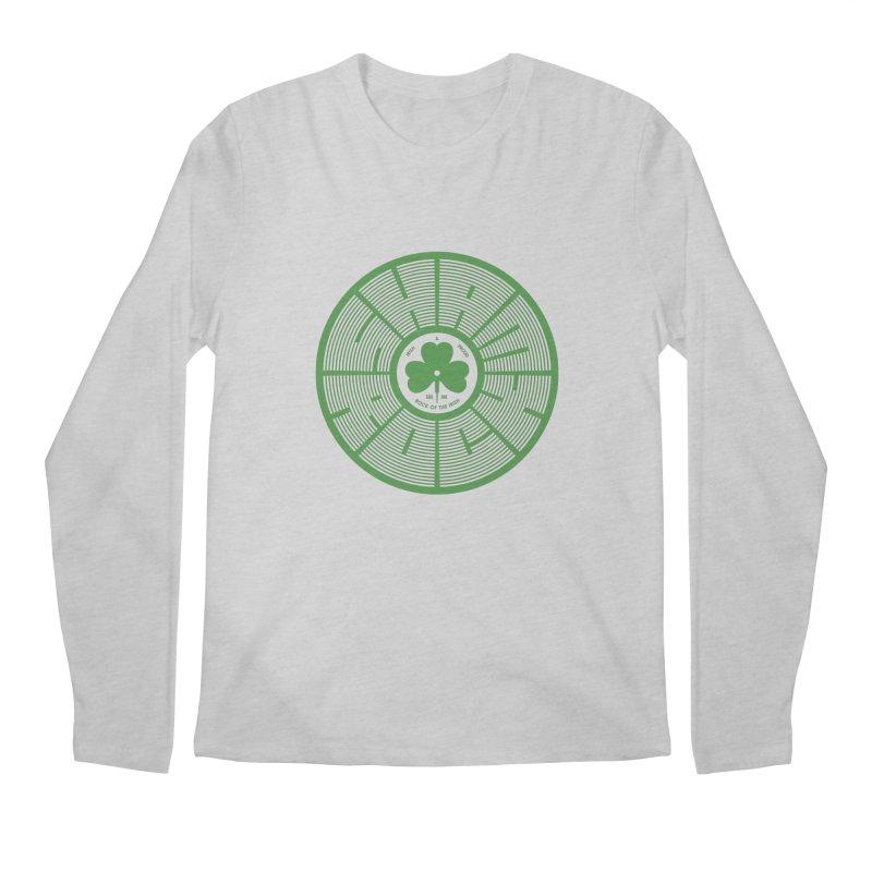 SHAMROCK (Clover) Men's Longsleeve T-Shirt by Hi Hello Greetings