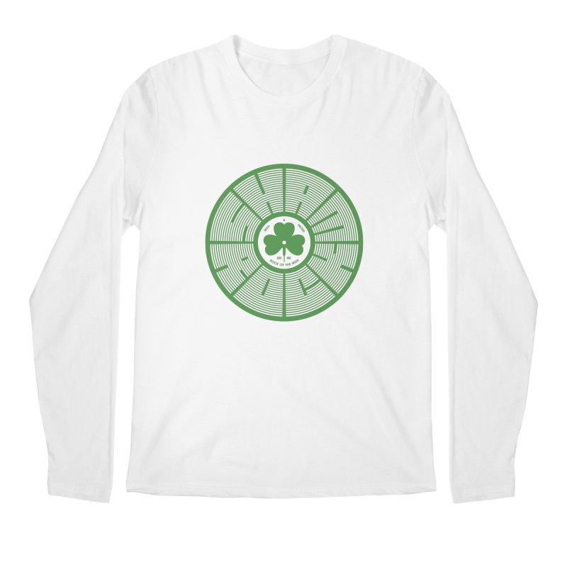 SHAMROCK (Clover) Men's Regular Longsleeve T-Shirt by Hi Hello Greetings