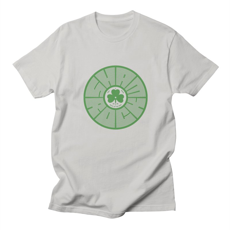 SHAMROCK (Clover) Men's Regular T-Shirt by Hi Hello Greetings