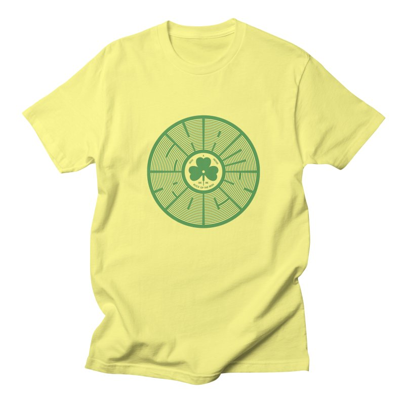 SHAMROCK (Clover) Men's T-Shirt by Hi Hello Greetings