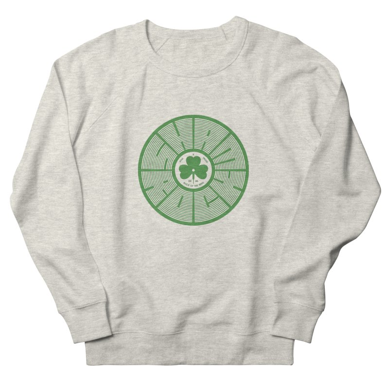 SHAMROCK (Clover) Men's French Terry Sweatshirt by Hi Hello Greetings
