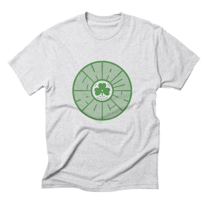 SHAMROCK (Clover) Men's Triblend T-Shirt by Hi Hello Greetings