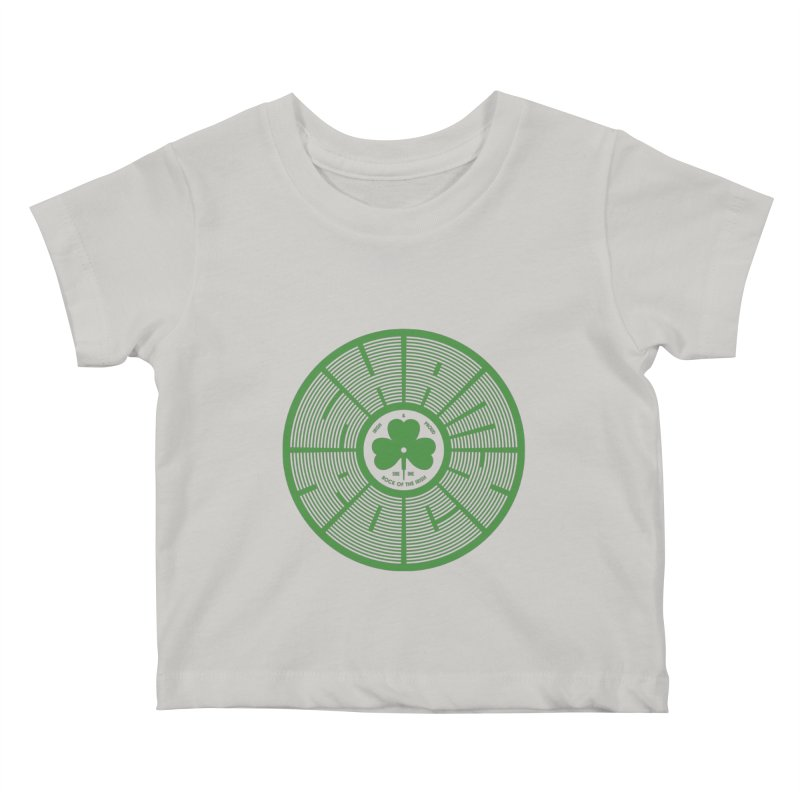 SHAMROCK (Clover) Kids Baby T-Shirt by Hi Hello Greetings