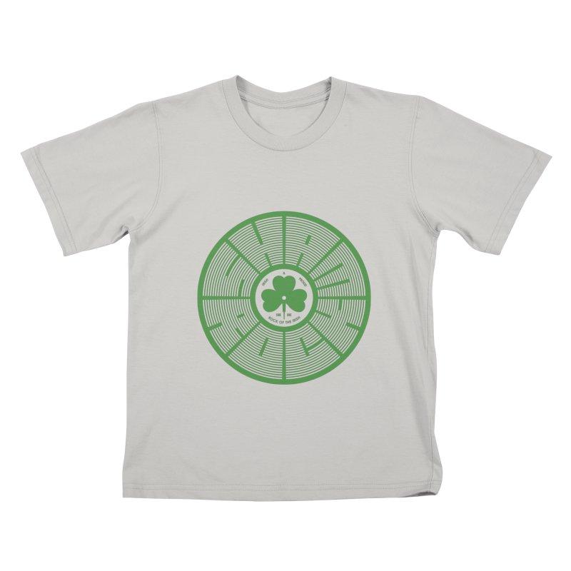 SHAMROCK (Clover) Kids T-Shirt by Hi Hello Greetings