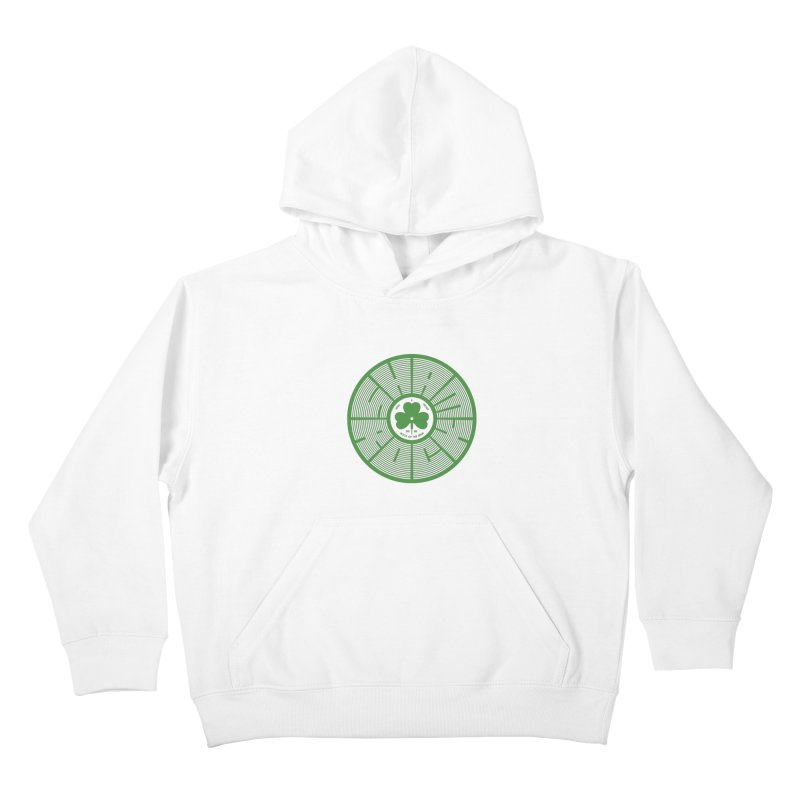 SHAMROCK (Clover) Kids Pullover Hoody by Hi Hello Greetings