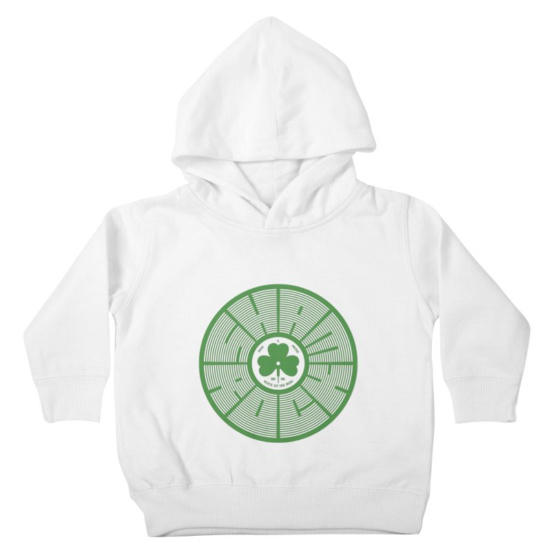 SHAMROCK (Clover) Kids Toddler Pullover Hoody by Hi Hello Greetings
