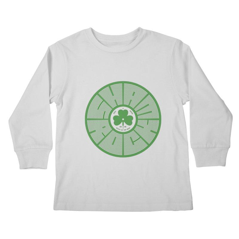 SHAMROCK (Clover) Kids Longsleeve T-Shirt by Hi Hello Greetings