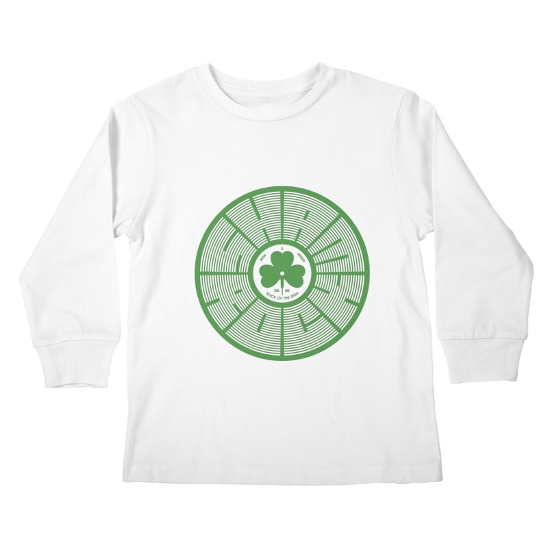 SHAMROCK (Clover) Kids Longsleeve T-Shirt by Hi Hello Greetings