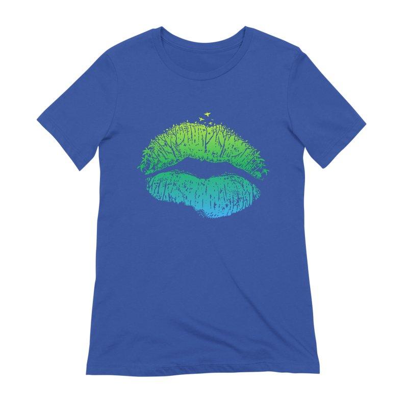 Kiss Island Women's T-Shirt by Hi Hello Greetings