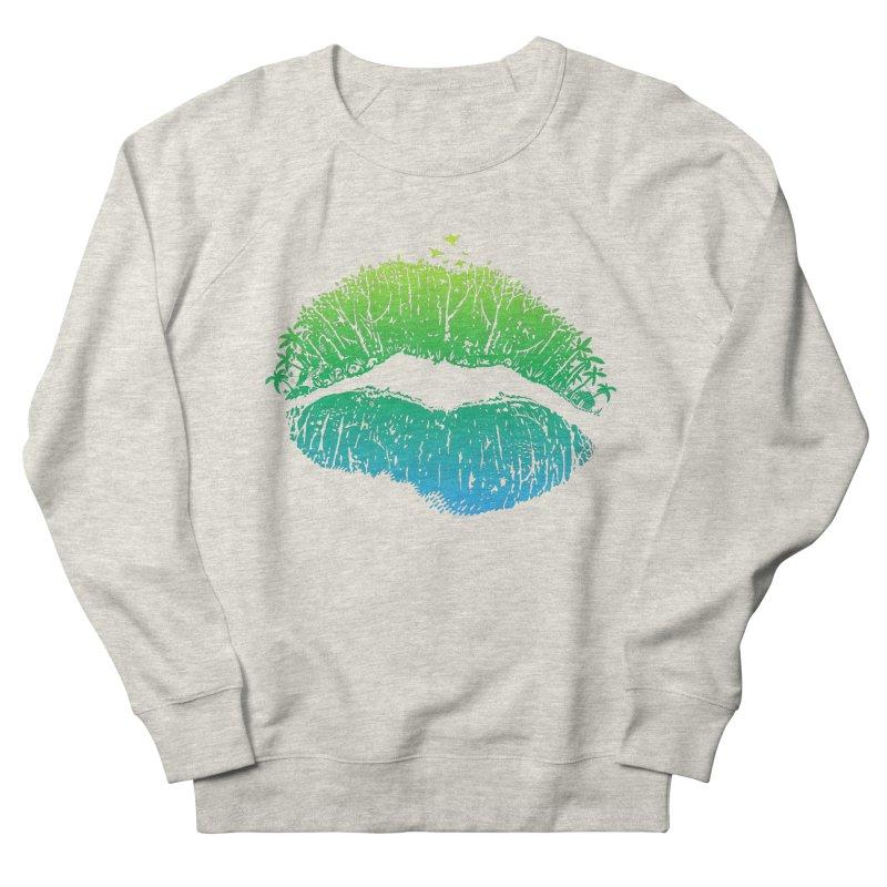 Kiss Island Men's French Terry Sweatshirt by Hi Hello Greetings
