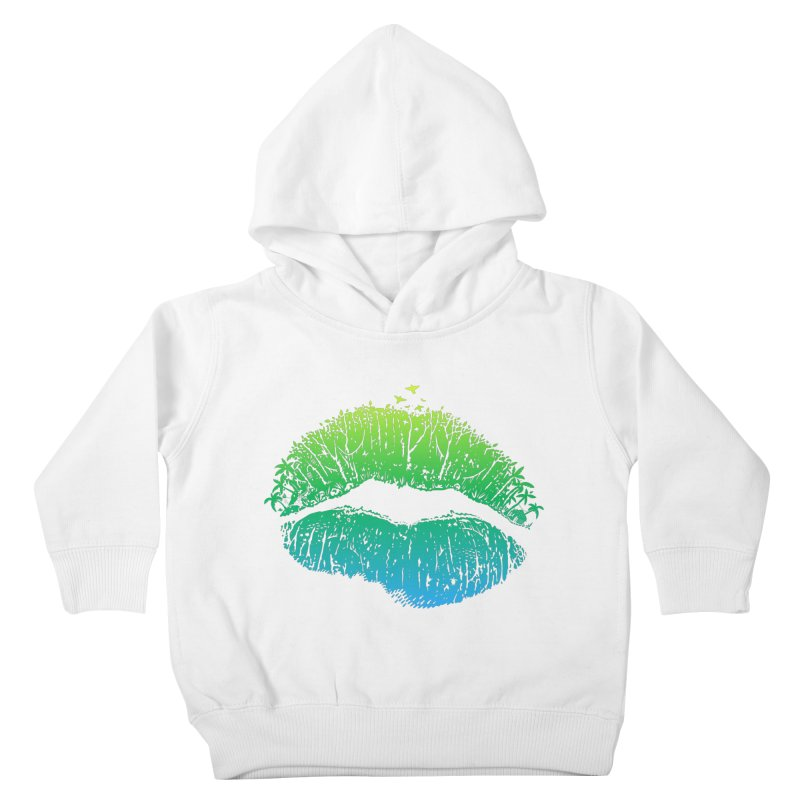Kiss Island Kids Toddler Pullover Hoody by Hi Hello Greetings