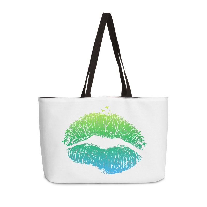 Kiss Island Accessories Weekender Bag Bag by Hi Hello Greetings