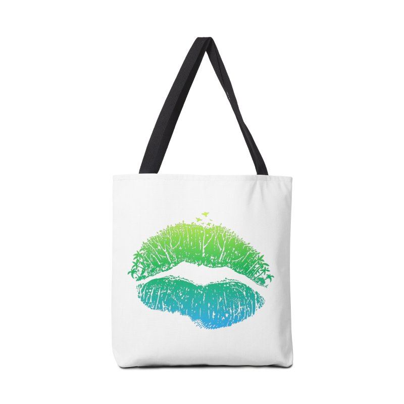 Kiss Island Accessories Bag by Hi Hello Greetings