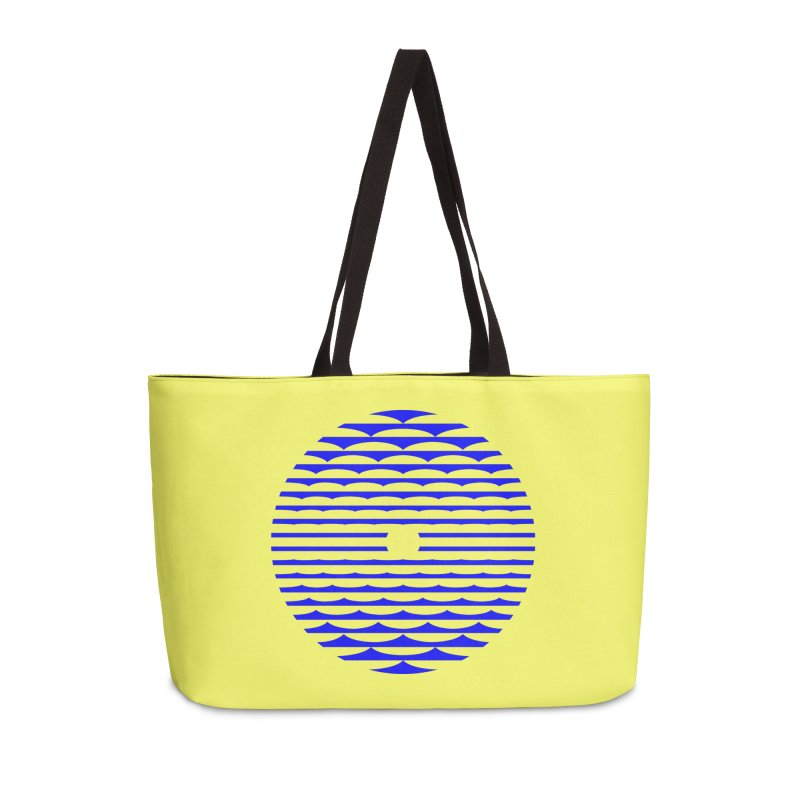 The Binding Light (BLUE) Accessories Bag by Hi Hello Greetings