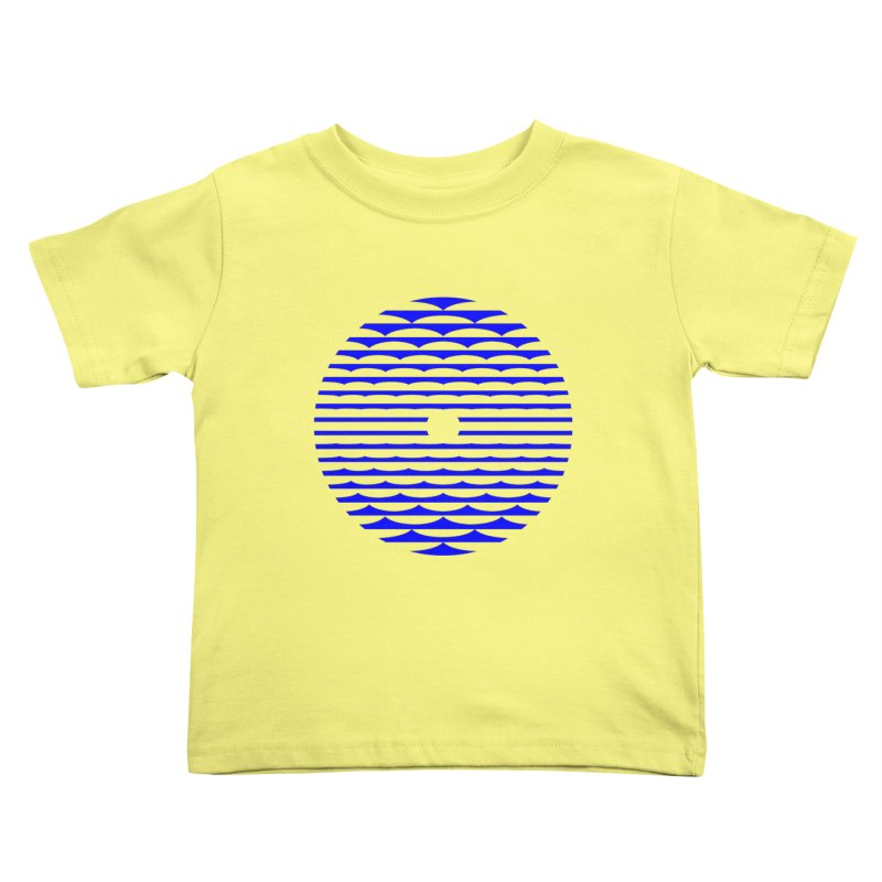The Binding Light (BLUE) Kids Toddler T-Shirt by Hi Hello Greetings