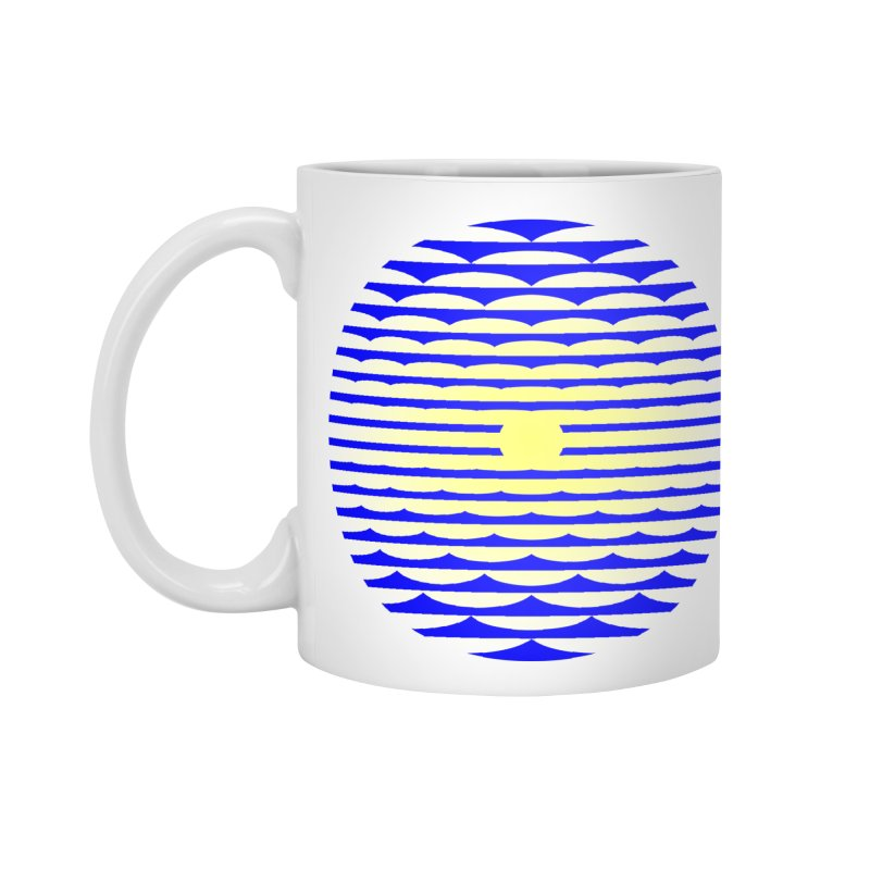 The Binding Light (BLUE/YELLOW) Accessories Mug by Hi Hello Greetings