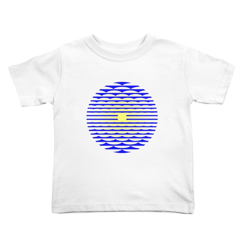 The Binding Light (BLUE/YELLOW) Kids Toddler T-Shirt by Hi Hello Greetings