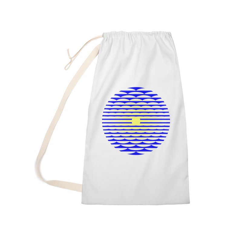 The Binding Light (BLUE/YELLOW) Accessories Bag by Hi Hello Greetings