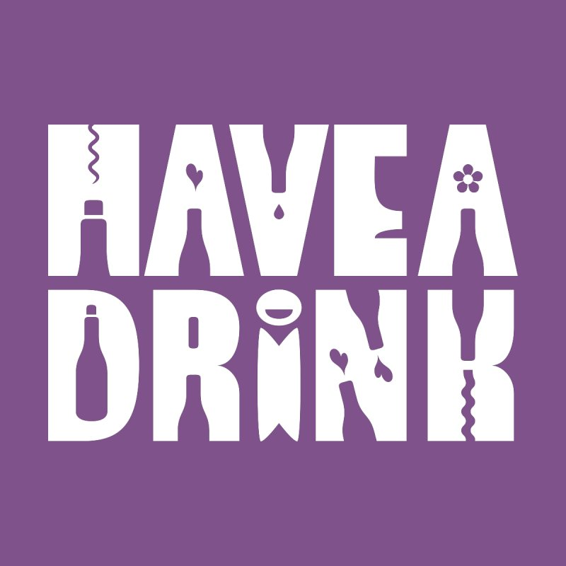 Have a Drink Home Framed Fine Art Print by Hi Hello Greetings