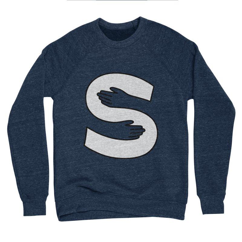 S-Squeeze Me? Men's Sweatshirt by Hi Hello Greetings
