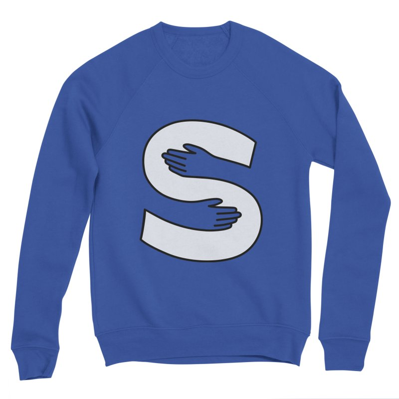 S-Squeeze Me? Men's Sweatshirt by Hi Hello Greetings