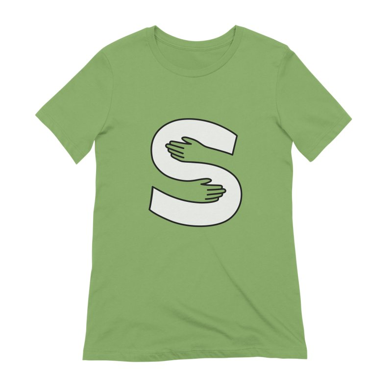 S-Squeeze Me? Women's Extra Soft T-Shirt by Hi Hello Greetings