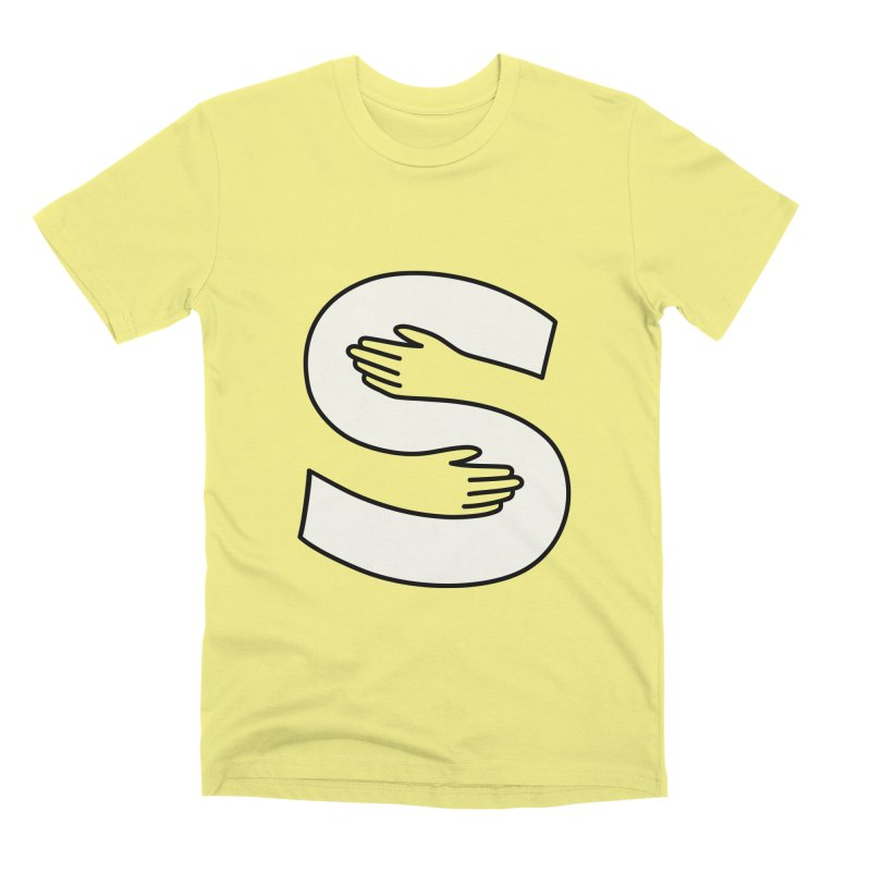 S-Squeeze Me? Men's Premium T-Shirt by Hi Hello Greetings
