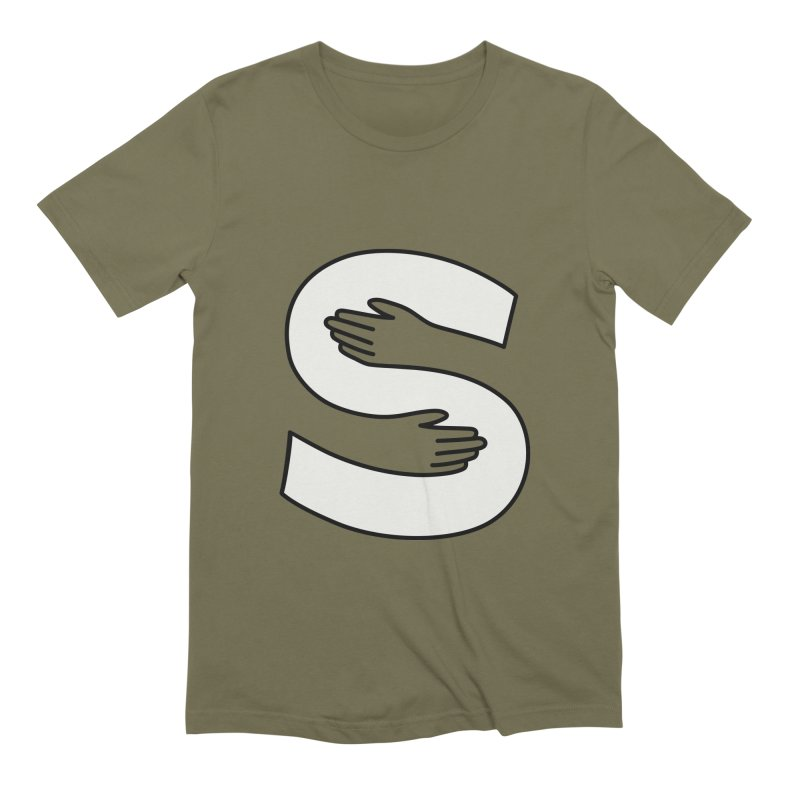 S-Squeeze Me? Men's Extra Soft T-Shirt by Hi Hello Greetings