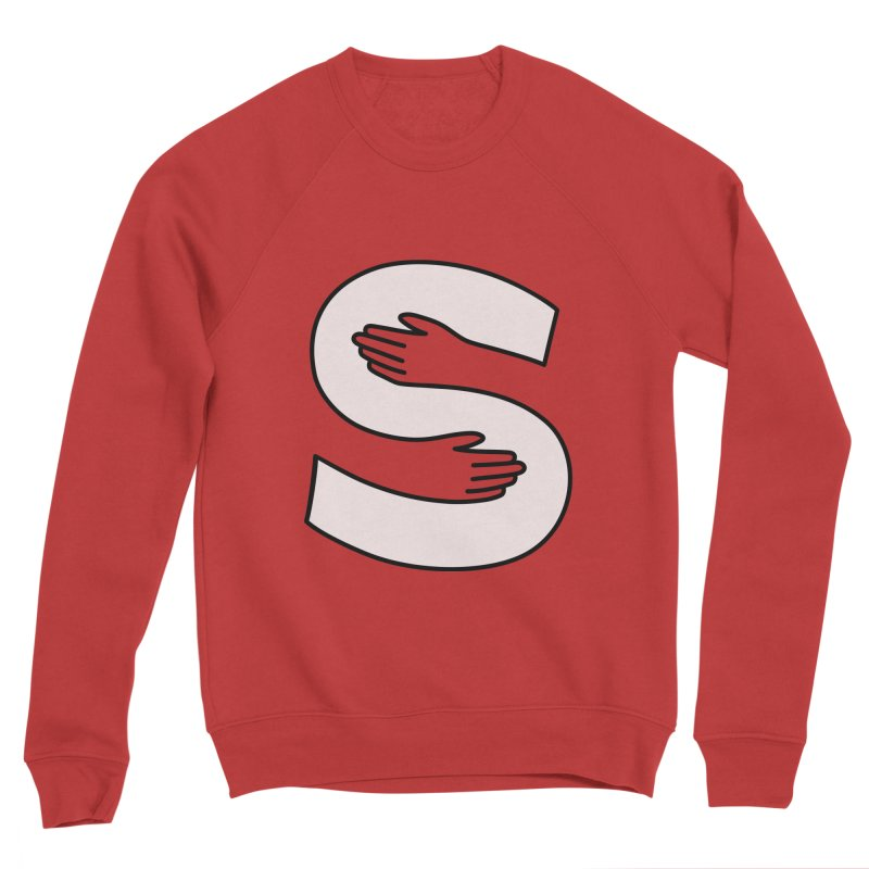 S-Squeeze Me? Men's Sponge Fleece Sweatshirt by Hi Hello Greetings