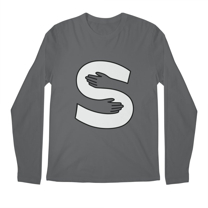 S-Squeeze Me? Men's Longsleeve T-Shirt by Hi Hello Greetings