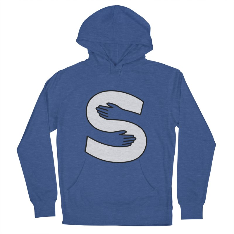 S-Squeeze Me? Women's French Terry Pullover Hoody by Hi Hello Greetings