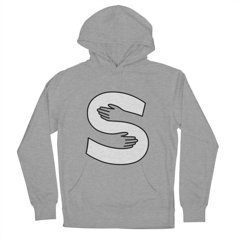 S-Squeeze Me? Men's French Terry Pullover Hoody by Hi Hello Greetings