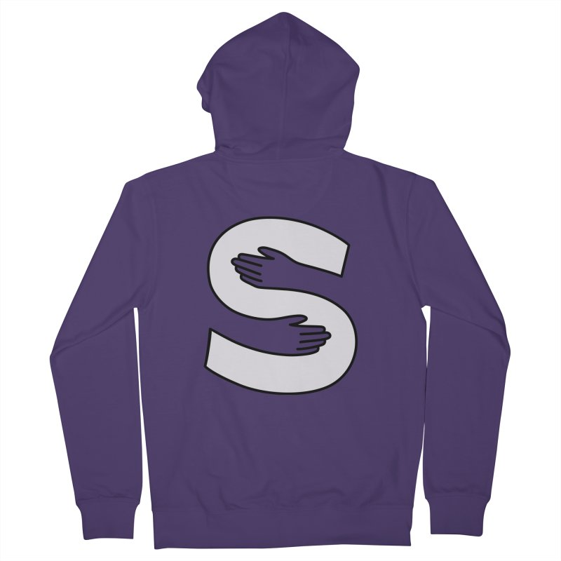 S-Squeeze Me? Women's French Terry Zip-Up Hoody by Hi Hello Greetings