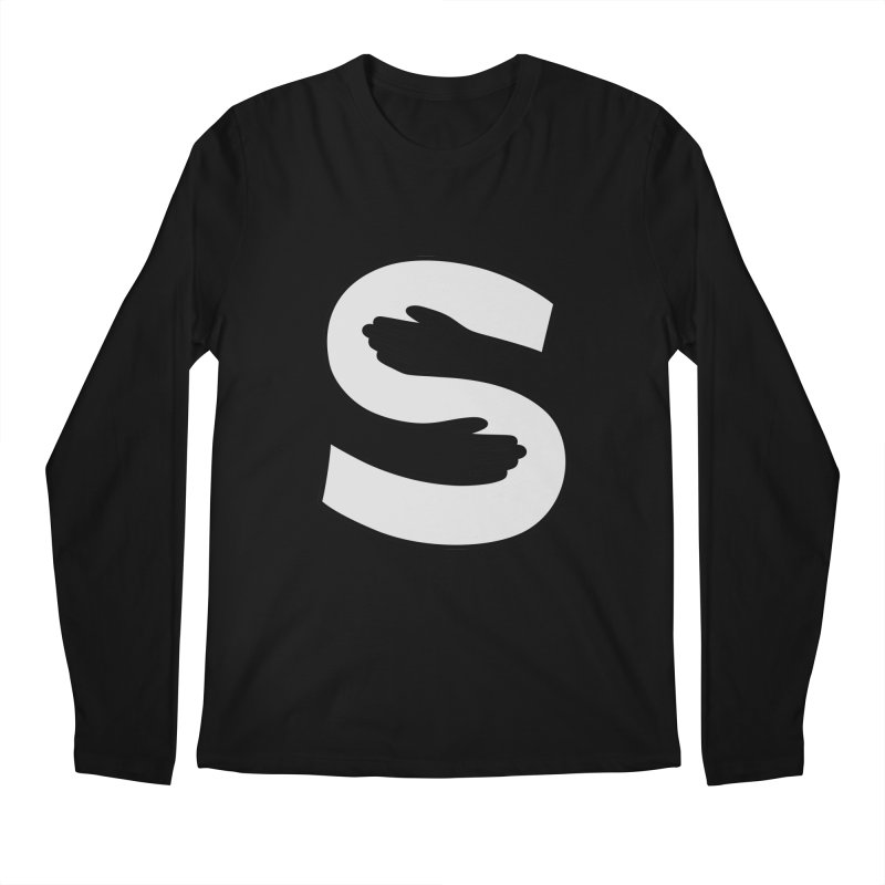S-Squeeze Me? Men's Regular Longsleeve T-Shirt by Hi Hello Greetings
