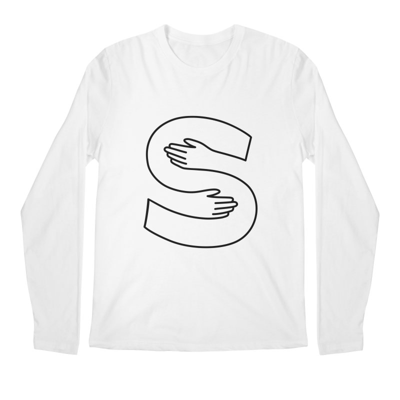 S-Squeeze Me? Men's Regular Longsleeve T-Shirt by Hi Hello Greetings