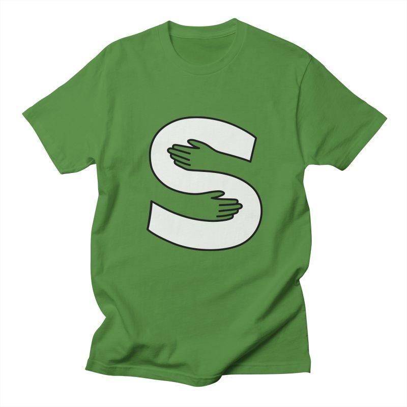 S-Squeeze Me? Men's Regular T-Shirt by Hi Hello Greetings
