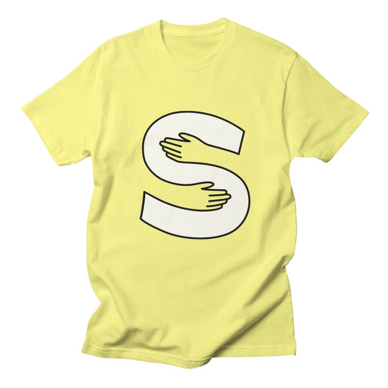 S-Squeeze Me? Men's Regular T-Shirt by Hi Hello Greetings