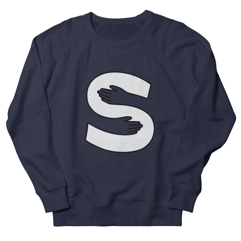 S-Squeeze Me? Women's French Terry Sweatshirt by Hi Hello Greetings