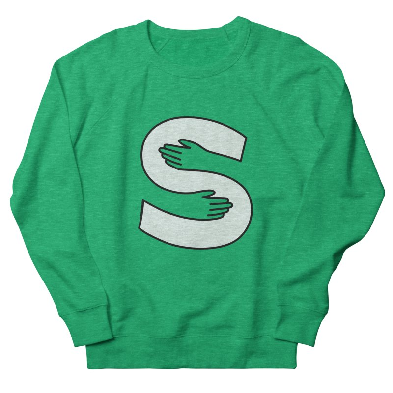 S-Squeeze Me? Men's French Terry Sweatshirt by Hi Hello Greetings