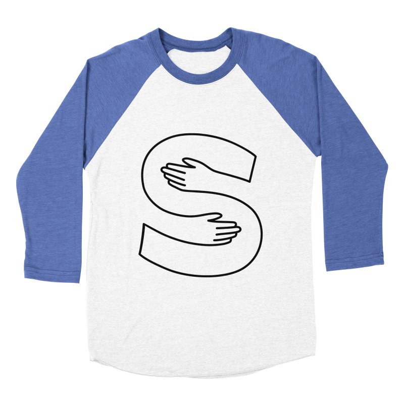 S-Squeeze Me? Women's Baseball Triblend Longsleeve T-Shirt by Hi Hello Greetings