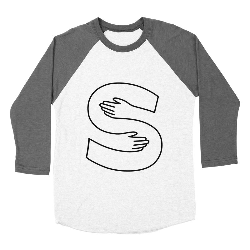 S-Squeeze Me? Men's Baseball Triblend Longsleeve T-Shirt by Hi Hello Greetings