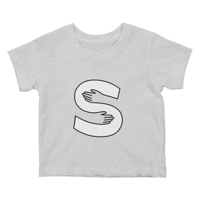 S-Squeeze Me? Kids Baby T-Shirt by Hi Hello Greetings