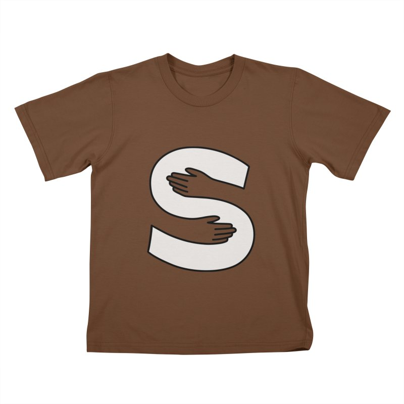 S-Squeeze Me? Kids T-Shirt by Hi Hello Greetings
