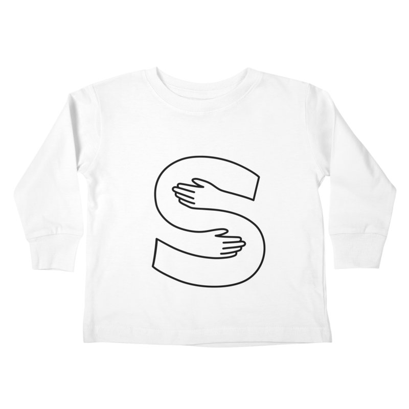S-Squeeze Me? Kids Toddler Longsleeve T-Shirt by Hi Hello Greetings